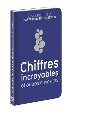 cover image of Chiffres incroyables et autres curiosités