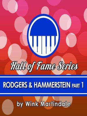 cover image of Rodgers and Hammerstein