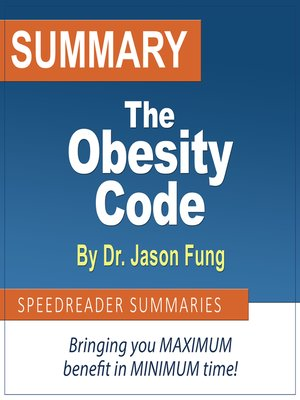 cover image of Summary of the Obesity Code by Dr. Jason Fung