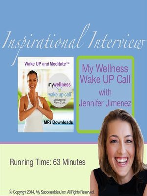 cover image of My Wellness Wake UP Call, Inspirational Interview