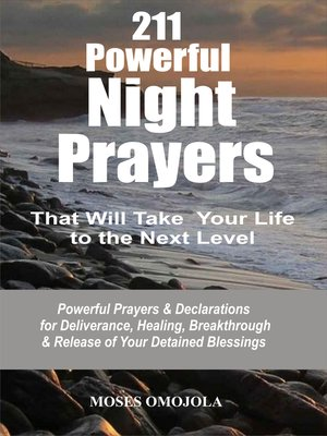 cover image of 211 Powerful Night Prayers that Will Take Your Life to the Next Level