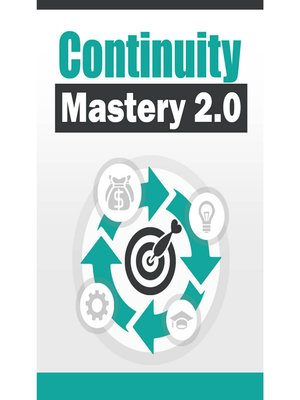 cover image of Continuity Mastery