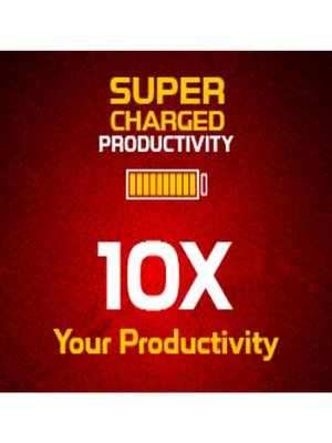 cover image of Supercharged Productivity--Create an Environment that can Motivate you and Boost your Productivity
