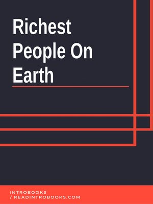 cover image of Richest People On Earth
