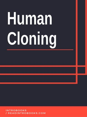 cover image of Human Cloning