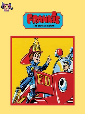 cover image of Frankie the Brave Fireman