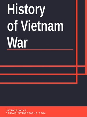 cover image of History of Vietnam War