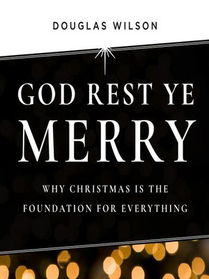cover image of God Rest Ye Merry