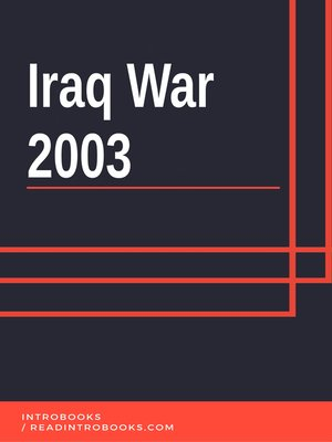 cover image of Iraq War 2003