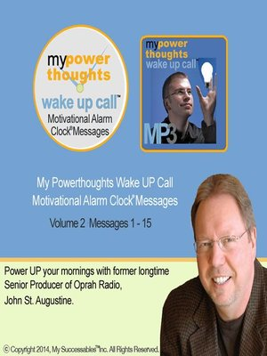 cover image of My Powerthoughts Wake UP Call, Volume 2