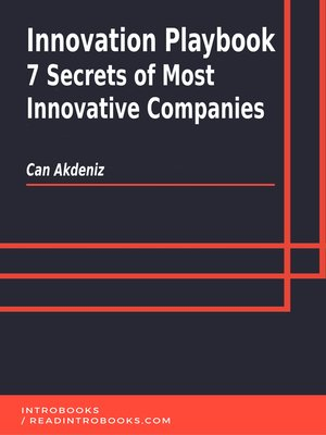 cover image of Innovation Playbook
