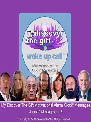 cover image of My Discover the Gift Wake UP Call, Volume 1