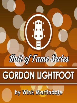 cover image of Gordon Lightfoot