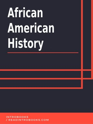 cover image of African American History