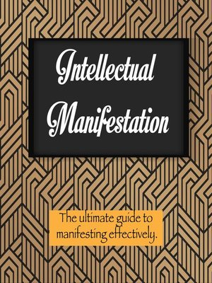 cover image of Intellectual Manifestation