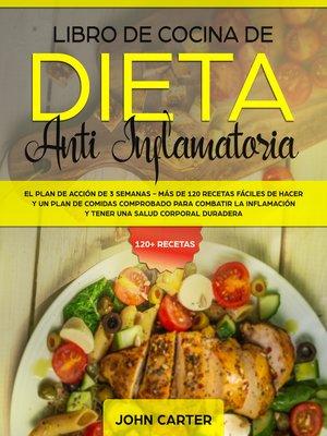 cover image of Libro de Cocina de Dieta Anti Inflamatoria