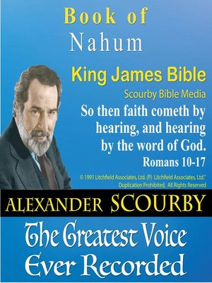 cover image of The Book of Nahum