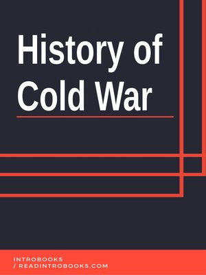 cover image of History of Cold War