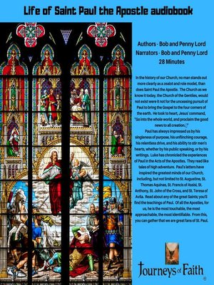 cover image of Saint Paul the Apostle audiobook