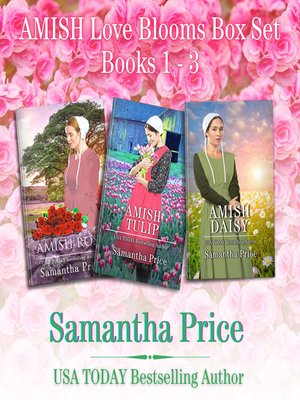 cover image of Amish Love Blooms Books 1--3 Box Set