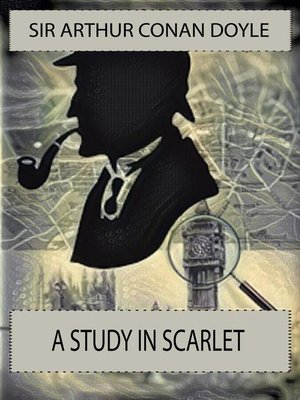 cover image of A Study in Scarlet by Sir Arthur Conan Doyle (Marbie Studios)