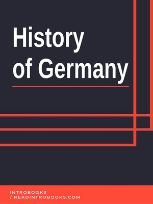cover image of History of Germany