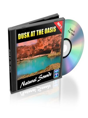 cover image of Dusk At the Oasis--Relaxation Music and Sounds