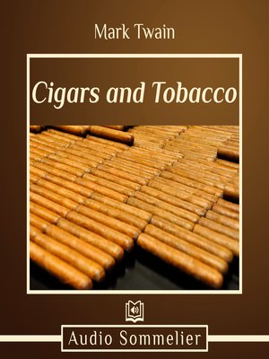 cover image of Cigars and Tobacco