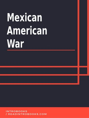 cover image of Mexican American War