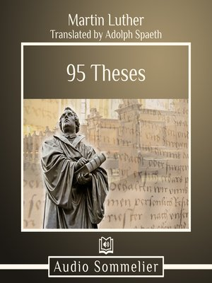 cover image of 95 Theses