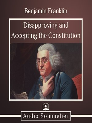 cover image of Disapproving and Accepting the Constitution