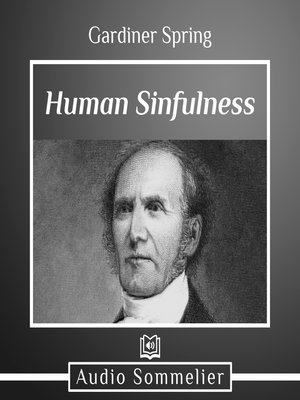 cover image of Human Sinfulness