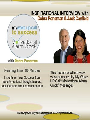 cover image of My Wake UP Call to Success, Inspirational Interview