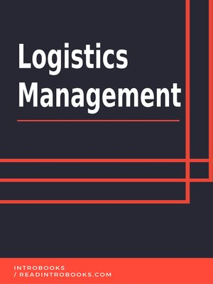 cover image of Logistics Management