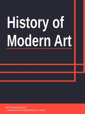 cover image of History of Modern Art