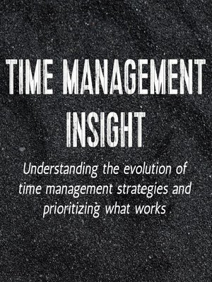 cover image of Time Management Insight