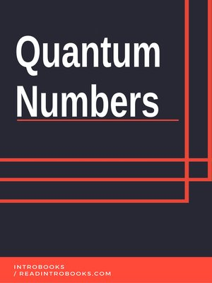 cover image of Quantum Numbers