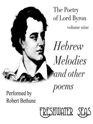 cover image of Hebrew Melodies and Other Poems