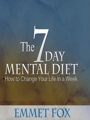 cover image of The Seven Day Mental Diet