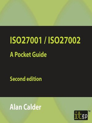cover image of ISO27001/ISO27002 2013