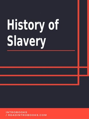 cover image of History of Slavery
