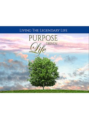 cover image of Purpose Driven Life--Live Your Life Based on What's Important to YOU