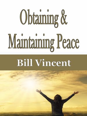 cover image of Obtaining & Maintaining Peace