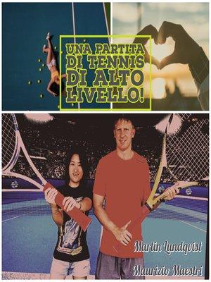 cover image of Una Partita di Tennis di Alto Livello!