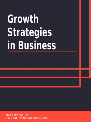 cover image of Growth Strategies in Business