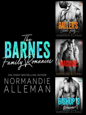 cover image of The Barnes Family Romances