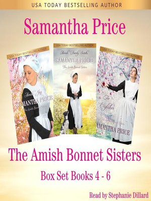 cover image of The Amish Bonnet Sisters Boxed Set