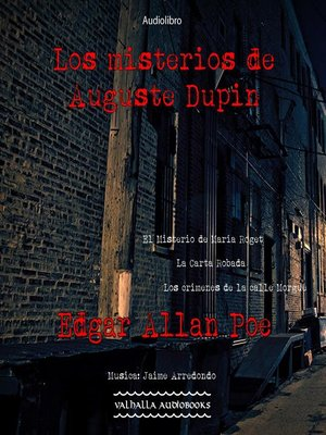cover image of Los misterios de Auguste Dupin