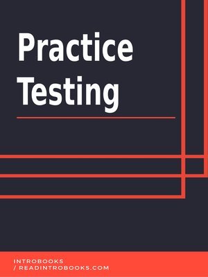 cover image of Practice Testing