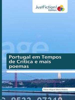 cover image of Portugal em Tempos de Crise